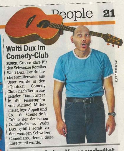 «Walti Dux im Quatsch Comedy Club»